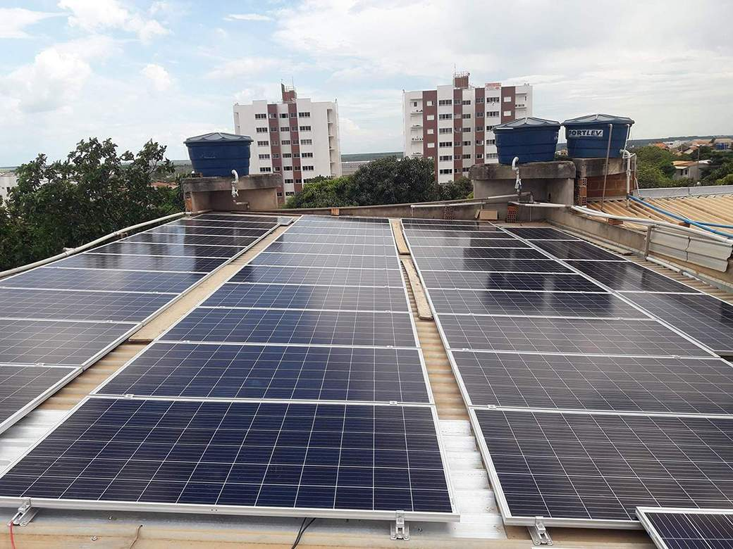 Energia Solar - Hewatt Projetos - Bahia - Parceria Solar Edge